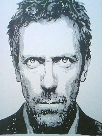 Hugh Laurie por amandouPaint